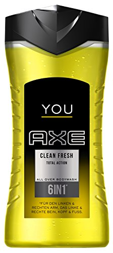 Axe Duschgel You Clean Fresh 250 ml, 6er Pack (6 x 250 ml)