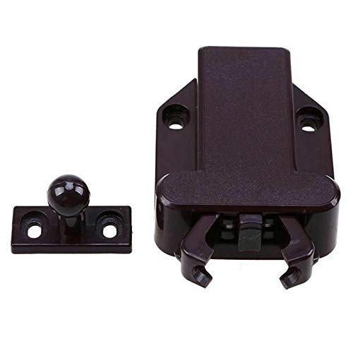 Beetles Shape Push to Open Magnetic Door Drawer Cabinet Catch Touch Latch | Color - As The Picture
