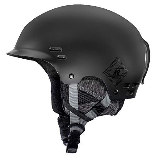 K2 Skis Herren Thrive Black Skihelm, schwarz, M
