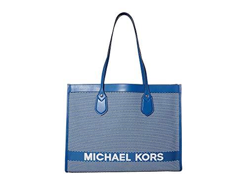 MICHAEL Michael Kors Bay Large East/West Tote Vintage Blue One Size