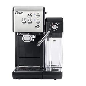 OSTER Cafetera espreso Prima Latte II, 19 Bares, con Tratamiento de Leche,