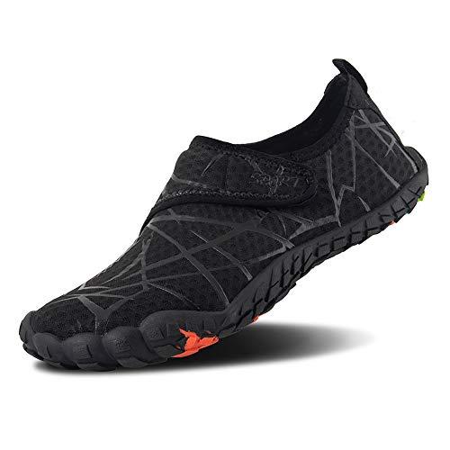 FEIFAN Womens Water Shoes Beach Swim Barefoot Adult Aqua Shoes