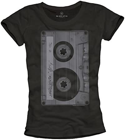 Camisetas Grupos Rock Mujer - Cassette