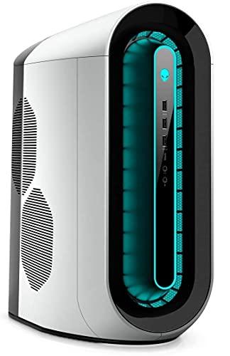 Alienware R12 Gaming Desktop, Intel Core i5-11400F, NVIDIA GeForce GTX 1650 Super, 16GB DDR4 Memory, 512GB PCIe Solid State Drive + 1TB HDD, WiFi, HDMI, White/Lunar Light