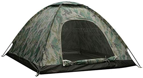 KCHEX New 4 Person Outdoor Camping Waterproof 4 Season Tent Camouflage Hiking