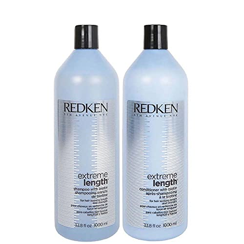 Kit Shampoo E Condicionador Redken Extreme Lenght 1 Litro