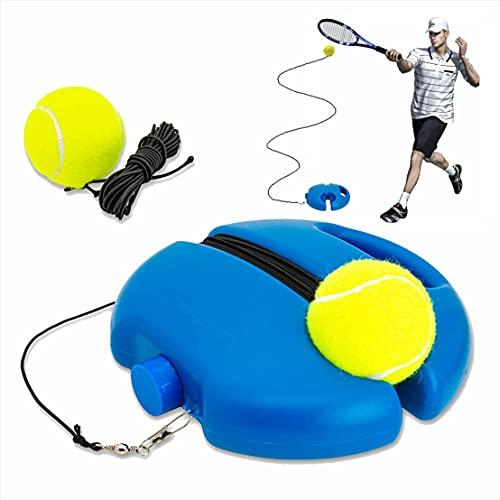 APP LIFE Allenatore di Tennis Palline di Rimbalzo con Corda Strumento per Allenamento Trainer Sport Base per Donna Uomo Bambino Giocatore Principiante