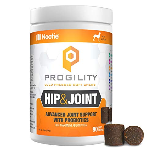 PROGILITY Hip Joint Soft Chews with Organic Tumeric 90ct, Brown (VP90HJ)