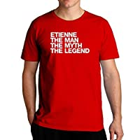 Eddany Etienne the man the myth the legend Left Aligned - Tシャツ