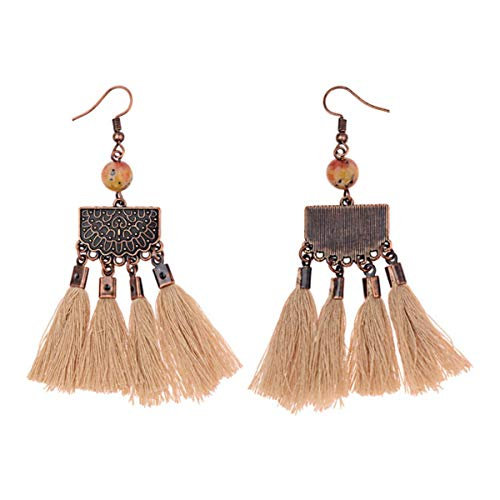 3Pairs earings fashion jewelry New hot-selling China style temperament literary folk style classical tassel fashion earrings for women