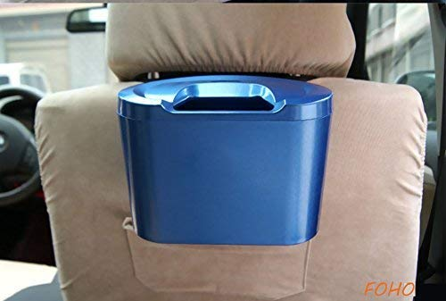 HEMJEX Back Seat Mini car Trash Rubbish Can Garbage Dustbin case Holder by