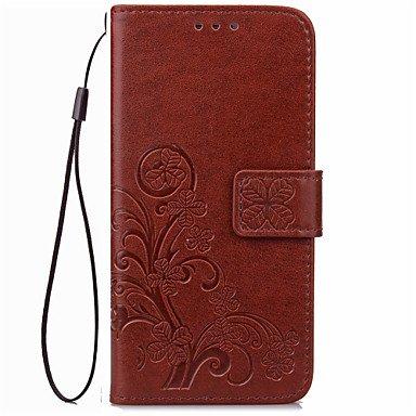 Handy schützen, Luxus-Glücksklee Portemonnaie Lederklappetui für Samsung-Galaxie j1 / j1 2016 / j1 Mini / J3 / J510 / J710 Samsung