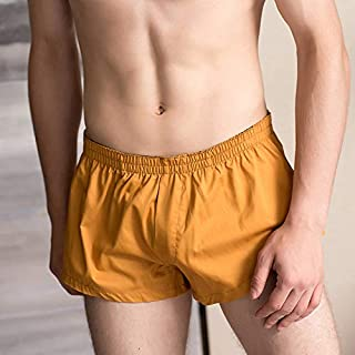 Alextreme Men Casual Home Shorts Low Waist Soft Breathable Elastic Sports Short Pants M-2XL