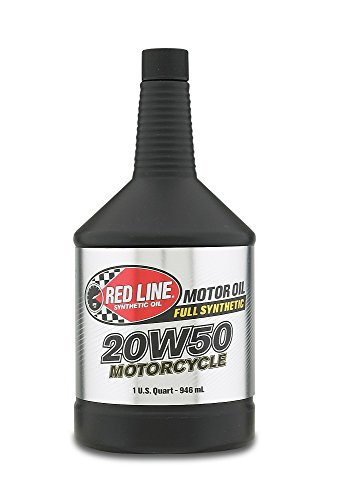 Red Line 42504 20W-50 Motorcycle Oil - 1 Quart