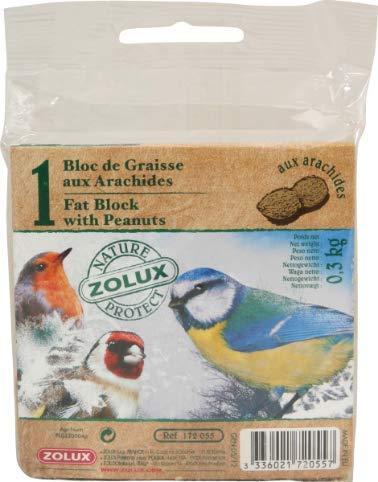 Zolux-Bloc de Graisse aux arachides 300g