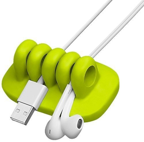 Quirky Cordies POP Wire and Cable Organizer, White (PCORP-WH01)