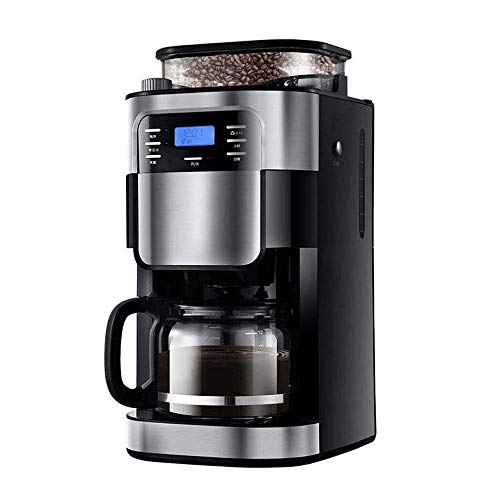 Lowest Price! SMLZV Automatic Coffee Maker Grind and Brew Coffee Machine for Use with Ground or Whol...