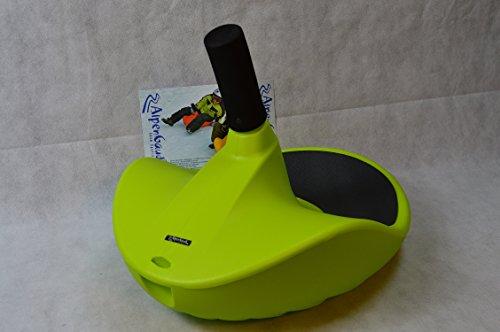 AlpenGaudi AlpenGaudi Kunststoffunststoffrodel AlpenZipfel,grün, 57cm Bob Rodel Zipfelbob bis 100Kg belastbar