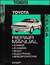 1989 Toyota Celica Repair Shop Manual Original