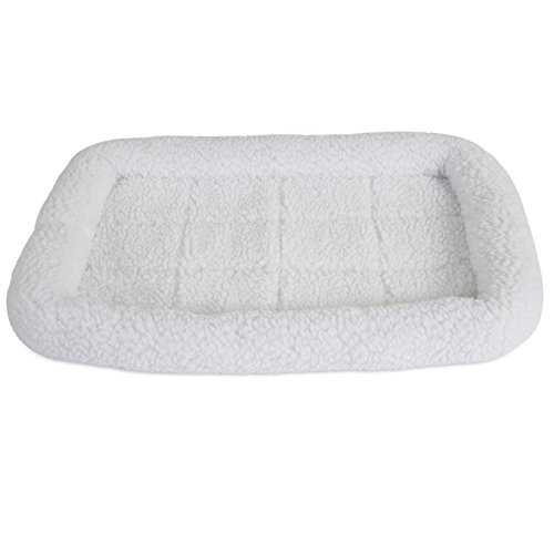 SnooZZy Sheepskin Bolster Crate Mat, for 24