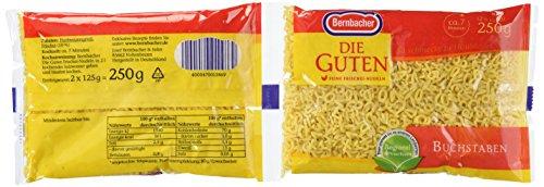 Bernbacher Die Guten 250g Suppeneinlagen - Buchstaben (1 x 250 g Beutel)