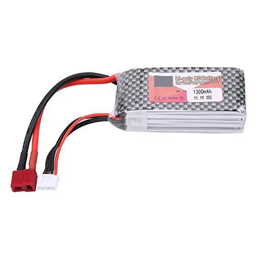 Alomejor ZOP Power 3S 11.1V 1300mAh 4500mAh 5500mAh Rechargeable LiPo Battery with T-Plug(11.1V 1300mAh 30C)