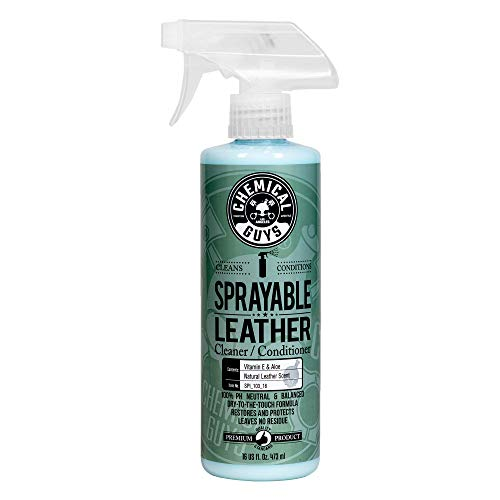 Chemical Guys SPI_103_16 Sprayable Leather Cleaner and Conditioner in One 16 oz