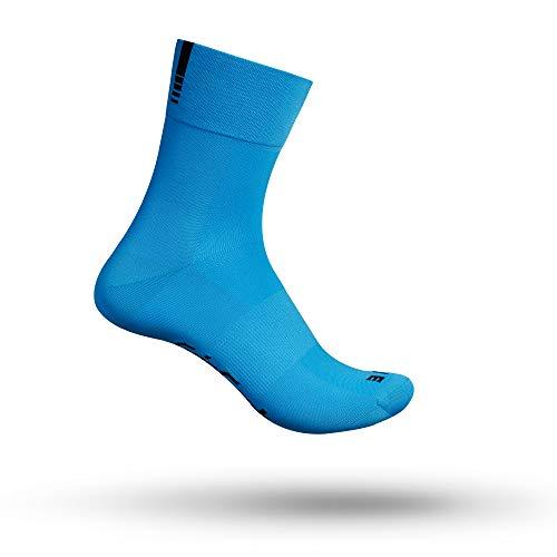 GripGrab Lightweight SL Performance - Calcetines de ciclismo para hombre y mujer, todo el año, Lightweight SL Short Calcetín, Unisex adulto, color Azul – largo., tamaño M (41-44)