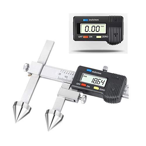 H-measuring Calibro Acciaio/Calibri A Corsoio, Calibri Digitali per Misurare La Distanza tra I Centri di Fori Rotondi, Strumenti di Misura di Livello Industriale. 150mm, 200mm, 300mm (Size : 20-200)