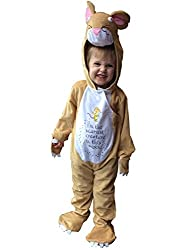 Gruffalo Mouse Child Costume Age 3-5 Years Makes a loverly gift idea From '' The Gruffalo '' comes this plush little Gruffalo Mouse costume. Good quality item This all in one suit comes complete with character headpiece and signature quote on the tum...