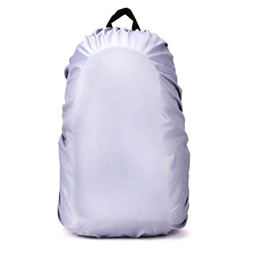 Xigeapg New Waterproof Travel Hiking Accessory Backpack Camping Dust Rain Cover 70L,Silver