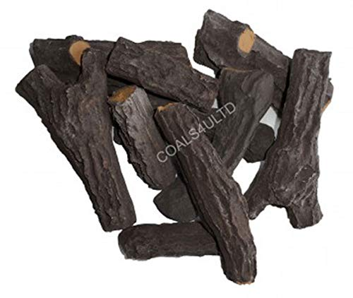 Coals 4 You s801 6pc Log Carbón Vegetal, Negro