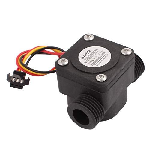 Aexit SEN-HZ21WA G1 / 2 Rosca macho Sensor de flujo de agua de plástico 1-25L / min 60 mm (7fa2704d4e58e64cc9958b95d73d2042)