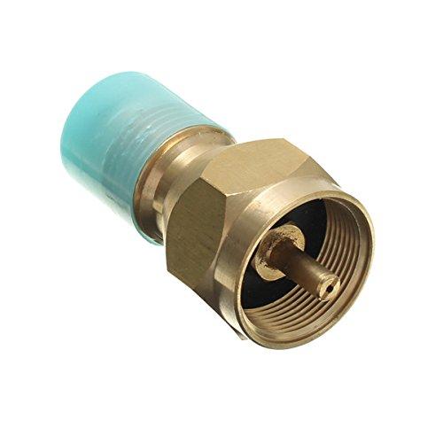 DyNamic 60mm Messing Propan LP Gasflaschenanschluss Adapter