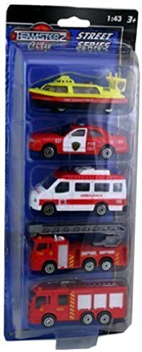 Teamsterz City Street Series - Fire Department Vehicles by Teamsterz