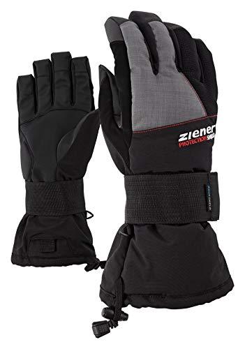 Ziener merfos AS (R) Glove SB Le Snowboard Gant Le, Femme, MERFOS AS(R) Glove SB, Black/Nebula stru, 9