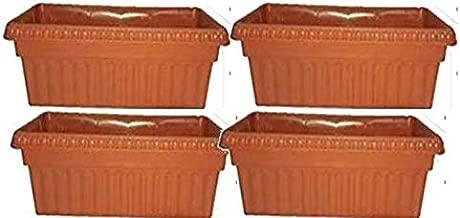 Khoji Floridale Rectangular Window Planter (43) - Set of 4