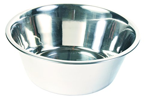 ICA CAS1170 Comedero Bowl de Acero Inoxidable Standard Gris