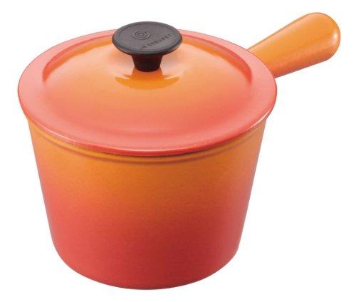 【並行輸入】ルクルーゼ ウィンザーポット 16cm/1.9Lオレンジ 16cmオレンジ