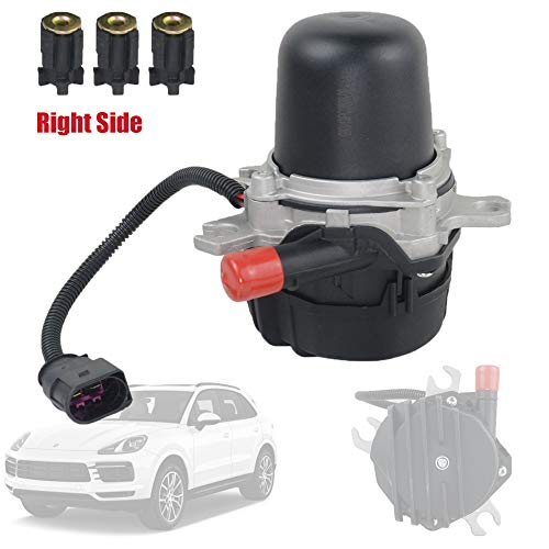 Secondary Air Smog Pump Compatible with Porsche Cayenne S Turbo 4.5L Right Cylinders 1-4 2003-2006, Part# 95560510421 7L5959253B GELUOXI