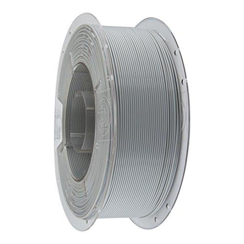 PrimaCreator EasyPrint - Filamento per stampante 3D, in PLA, 1,75 mm, bobina da 1 kg, colore: Grigio chiaro