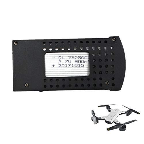 Batería de polímero de litio 3,7 V 900 mAh compatible con drones cuadricóptero teledirigido SG700/107S/S169, profesional, recargable, batería de litio, accesorios de repuesto, baterías RC.