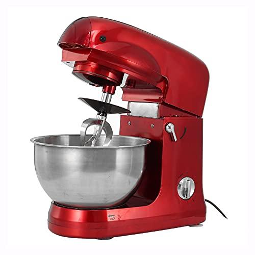 HomyDelight Food cessor, 5.0L Stand Mixer Kitchen Bowl Blender Food Kneading Baking Cooking Machine 110V