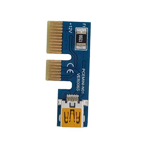 Extensión PCI-E 1X Extensor PCI Cable de extensión PCI Extensor USB de...