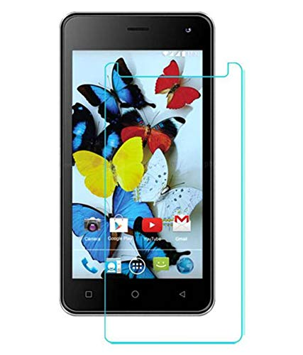 Timbu Edge to Edge Hammer proof screen guard 9H Hardness Anti Fingerprint Anti Glare 033mm HD+ view Crystal Clear Precusely Engineered Tempered Glass for Karbonn A2