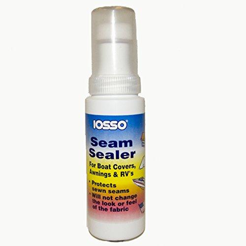 Iosso Seam Sealer, 4 Ounce Bottle w/ Foam Tip Applicator