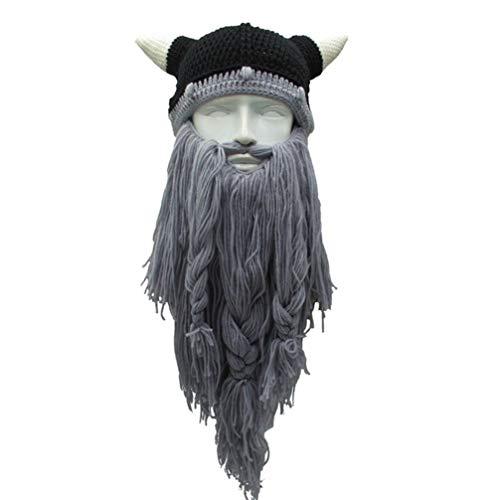 Tomaibaby 1 sombrero vikingo para disfraz de pirata para niños, adultos, Halloween, fiesta de cumpleaños, disfraz.