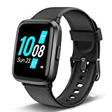 Lintelek Smart Watch Blood Pressure Monitor, Blood Oxygen Monitor Smartwatch, HR Fitness Tracker