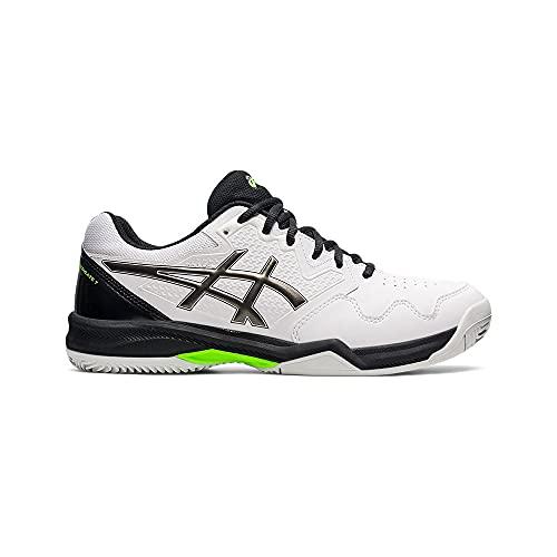 ASICS Gel-Dedicate 7 Clay, Zapatillas de Tenis Hombre, Color Blanco, 42.5 EU