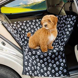 FREESOO Asiento para mascotas a prueba de agua cubre la hamaca para el asiento trasero con ajustes universales para todos los automóviles